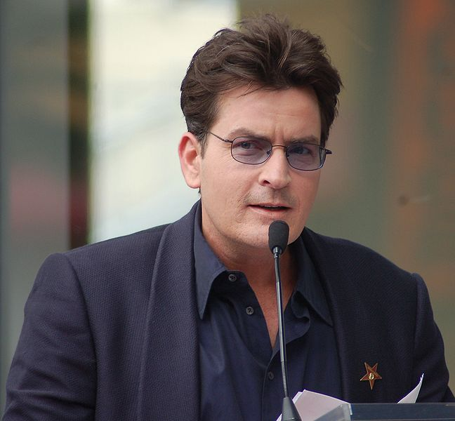 Charlie Sheen in March 2009
